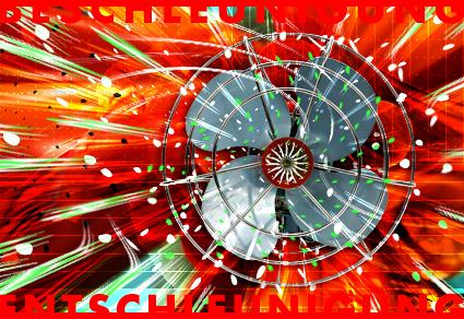© Dieter Telfser 2005. — Zeit ist gemessene Erfahrung, erfassbar z.B. in den Ausschlägen eines Pendels, den Umläufen der Jupitermonde oder der Länge einer Resie. Auch Empfinden und Denken kostet Zeit. Das ist an der Gehirntätigkeit z.B. über ein Elektroenzephalogramm messbar. Physiologen finden, dass der Mensch eine Art Zeitquant besitzt, eine Zeiteinheit von eta einer Zehntel Sekunde. Der durchschnittliche Mensch hat folglich einen Zeitvorrat von 40 Milliarden menschlichen Zeitquanten, also 40 Milliarden Erlebnisse, bzw. Wahrnehmungen sind uns anscheinend in unserem Leben vergönnt.