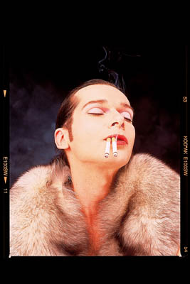 © Andreas Marini 2002 — Dieter Telfser 2005 — Maske: Bettina Grass in den Ateliers Gretter.