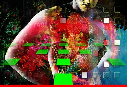 © Dieter Telfser 2005 — Mind Your Gaps! — Porenbildende Synapsen als Resultat von typografischer Florealität im gelben Quervergleich. Ziegenbärte als Tastenzierde für mehr Gleitsicht beim Klotzen. Über Transmembranen im Visuellen, die eigentlich für sich alleine stehen könnten. — Hat hier irgendjemand zufällig meine Batterie gesehen?