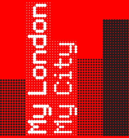 © Foundry Types Limited 2006 — Logotype created with Foundry Plek and Foundry Flek for »My London. My City« — Contributors: Andy Altmann | Why Not Associates, Derek Birdsall, Pete Dawson | Grade, Mike Dempsey | CDT, Jonathan Ellery, Margaret Calvert, Alan Dye, Ben Stott, Nick Finney | NB:Studio, Alan Fletcher, Ken Garland, Fernando Gutiérrez | Pentagram, Michael Johnson | Johnson Banks, Alan Kitching | Celia Stothard, Shem Law | BBC Radio Times, Jim Northover | Lloyd Northover, Alan Rosenfeld / Adobe Systems Europe, Freda Sack | Foundry Types, John Sorrell | Sorrell Foundation, Mark Webber. — David Quay about Foundry Plek and Foundry Flek: The human family now exists under conditions of a global village. We all live in a single constricted space resonant with tribal drums. [Marshall McLuhan]